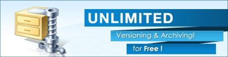 Unlimited Versioning and Archiving for Free